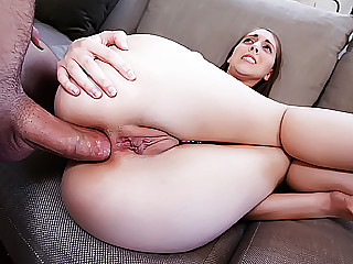 Amateur cum in ass